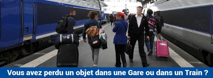 Objets trouvés accueil SNCF