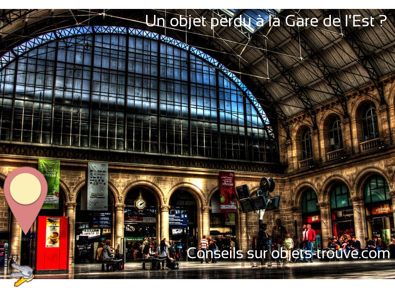 objet trouv la gare de l 39 est paris comment signaler un objet perdu. Black Bedroom Furniture Sets. Home Design Ideas