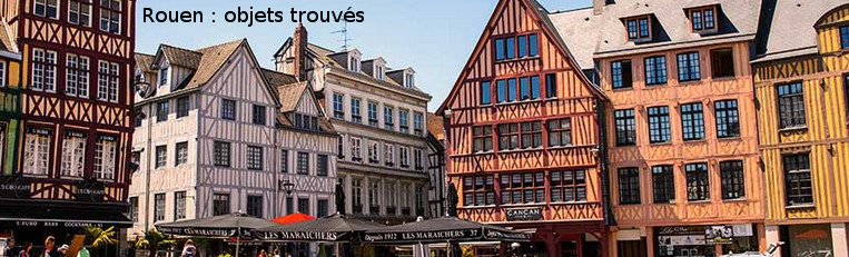 objets trouves à Rouen