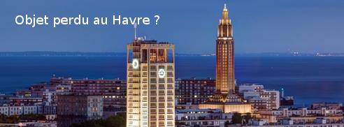 Le Havre : les objets perdus
