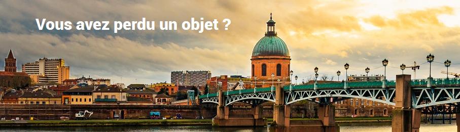 Objet perdu à Toulouse