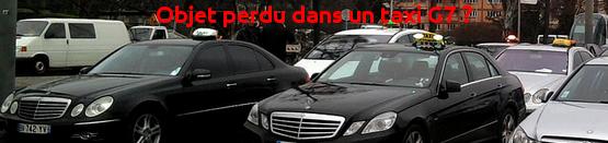 perdu taxi g7
